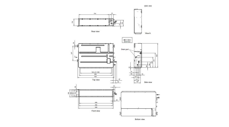 Slim Duct Indoor Model ARTG18LLTA